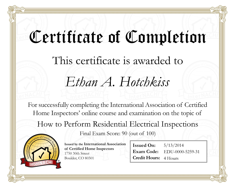 training certificates brass tacks inc